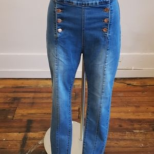 American Bazi high rise skinny jean